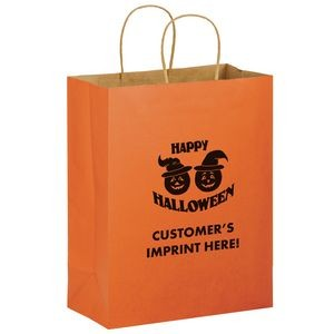 Halloween Stock Design Matte Orange Shopper � Pumpkins - Customized (10