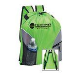Custom Polyester Backpack - 210-Denier w/Full color (16