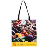Custom Full Coverage PET Non-Woven Tote Bag w/Full Color (15