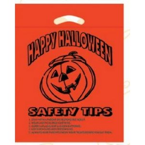 Halloween Stock Design Orange Die Cut Bag � Happy Halloween (12