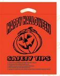 Custom Halloween Stock Design Orange Die Cut Bag • Happy Halloween (12