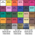 Custom Blank Basic Color Tissue Paper (20