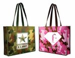 Custom Non Woven Camo Tote Bag (Spot Color)