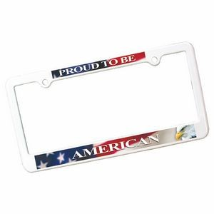 License Plate Frame w/ 4 Holes (Full Color Digital)