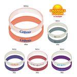 Custom Sun Fun Bracelet (Spot Color/1 Side)