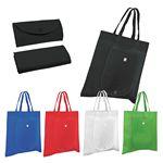 Custom Non Woven Fold 'n Go Tote Bag (Blank)