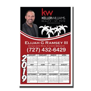 Calendar Magnet (Full Color Digital)