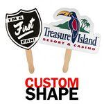 Custom Custom Shape Hand Fan