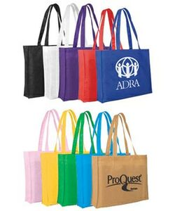 Non-Woven Tote Bag w/ 22 Strap (Spot Color)