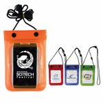 Custom Waterproof Cell Phone Bag (Spot Color)