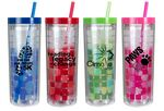 Custom 16 Oz. Mood Cube Tumbler (Spot Color)