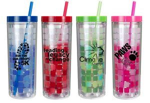 16 Oz. Mood Cube Tumbler (Spot Color)