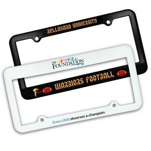 License Plate Frame w/ 2 Holes (Full Color Digital)