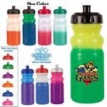 Custom 20 Oz. Mood Cycle Bottle (Full Color Digital Direct)