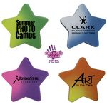 Custom Mood Star Die Cut Erasers