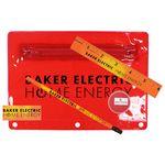 Custom Premium Translucent Mood School Kit w/ Pencil, Ruler, Eraser & Sharpener