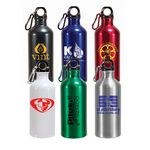 Custom 22 Oz. Aluminum Trek II Bottle (Spot Color)