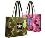 Custom Non Woven Camo Tote Bag (Full Color Digital)