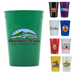 12 Oz. Smooth Stadium Cup (Full Color Digital)