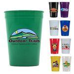 Custom 12 Oz. Smooth Stadium Cup (Full Color Digital)