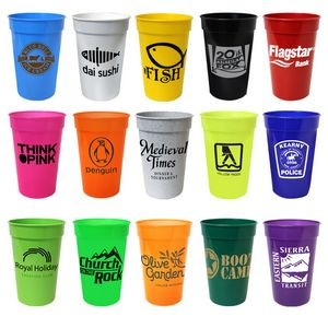 17 Oz. Smooth Stadium Cup (Spot Color)