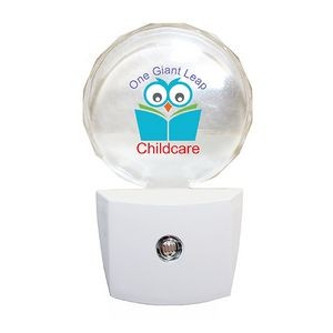 Circle LED Night Light, Full Color Digital