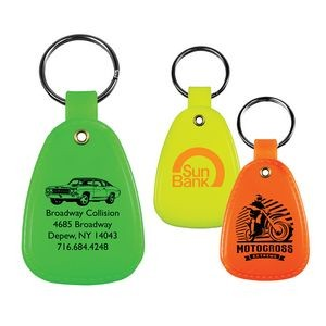 Western Saddle Key Tag (Spot Color)