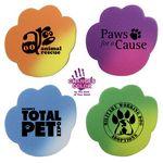 Custom Mood Paw Die Cut Erasers