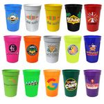 Custom 17 Oz. Smooth Stadium Cup (Full Color Digital)
