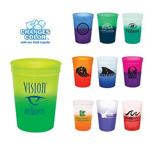 12 Oz. Mood Stadium Cup (Spot Color)