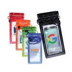 Custom Large Waterproof Cell Phone Bag, Full Color Digital