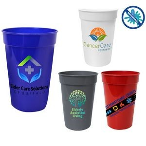 17 Oz. Antimicrobial Stadium Cup (Full Color Digital)
