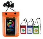 Custom Waterproof Cell Phone Bag (Full Color Digital)