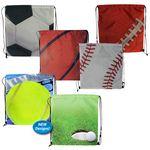 Custom Sports Style Drawstring Backpack (Blank)