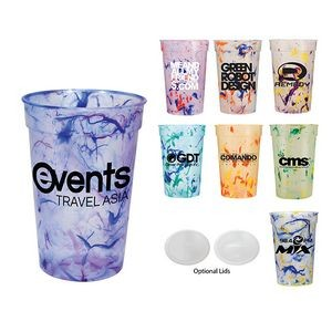 17 Oz. Confetti Stadium Cup (Spot Color)