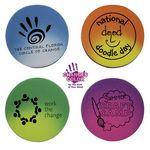 Custom Mood Circle Die Cut Erasers