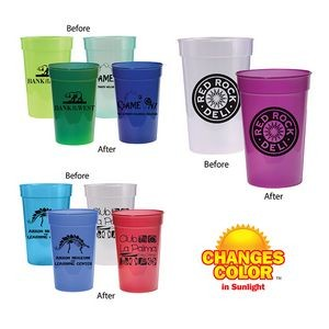 17 Oz. Sun Fun Stadium Cup (Spot Color)