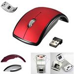 Custom Folding wireless optical mouse (2.4GHZ)
