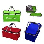 Custom Collapsible Cooler Picnic Basket