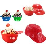 Custom Mini Baseball Helmet Ice Cream Bowl, 8oz