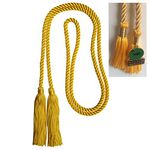 Custom Single Honor Cords With Custom Tag