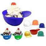 Custom Baseball Helmet Ice Cream Bowl, 16oz