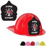 Custom Plastic Fire Chief Hats
