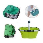 Custom Folding Shopping Basket