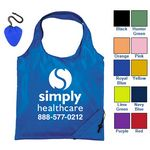 Custom 210T Polyester Folding Tote