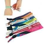 Custom Polyester Woven Wristbands for Events