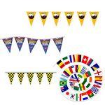 Custom Custom Colorful 20' Pennant Flag Strings