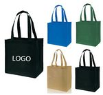 Custom Affordable Small Gusset Tote Bags Non-Woven