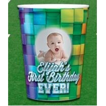 Full Color Stadium Cup (12 Oz.)