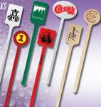 Custom Plastic Stir Stick (7.5